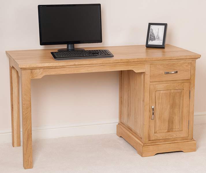 Small Wood Computer Desk ~ Small solid wood desk computer for