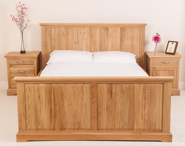 ASPEN SOLID OAK WOOD 6ft SUPER KING SIZE BED FRAME BEDROOM FURNITURE EBay