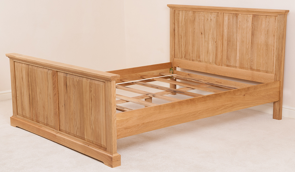 Aspen Solid Oak Wood 6ft Super King Size Bed Frame Bedroom