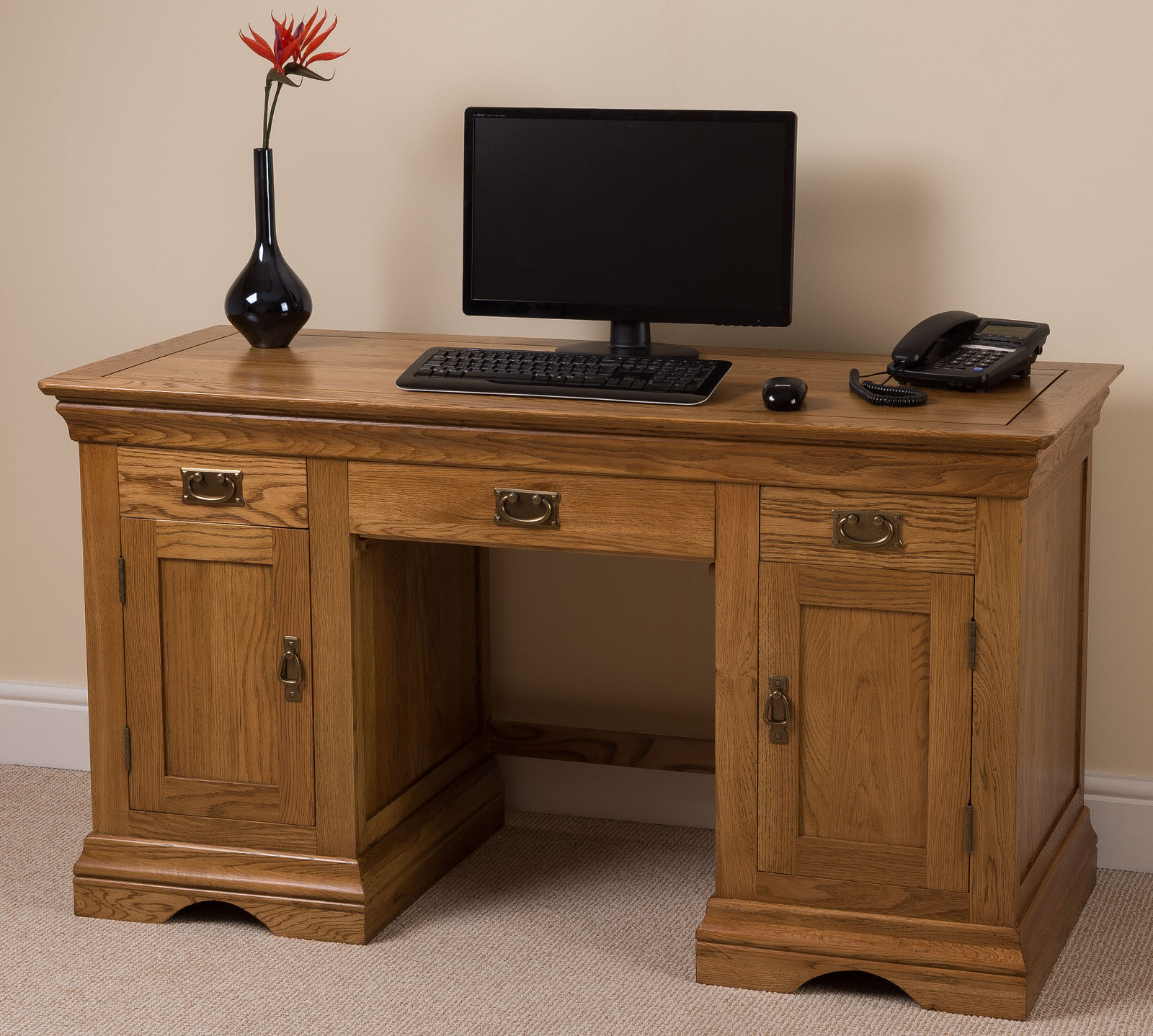 French Rustic Solid Oak Wood Large Computer Desk Office. Uw Help Desk. How To Keep Office Desk Organized. Farm Table Rentals. Step2 Deluxe Art Master Desk. Dealing Desk Broker. Desk Pad Leather. 10 Drawer. Best Buy Computer Desk
